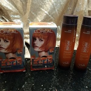 Copper hair color bundle